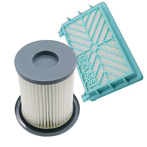 CAIM Luftreiniger Ersatzfilter 2ST / Set Staubsauger HEPA Filter Element + Luftfilter for Philips FC8720 FC8724 FC8732 FC8734 FC8736 FC8738 FC8740 FC8748 Ersatz