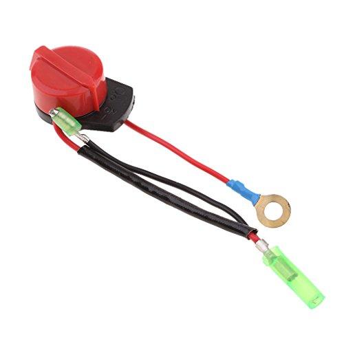 1 Stück Motor Ein Aus Schalter Rasenmäher Wasserpumpe Ersatz für Go-Karts, Mini-Bikes, andere Fahrzeuge