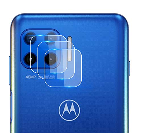 NOKOER Kamera Panzerglas Kompatibel für Motorola Moto G 5G Plus, [3 Stück] Ultradünnes Gehärtetes 2.5D Kamera Schutzglas, 360 Grad Schutzkamera- Transparent