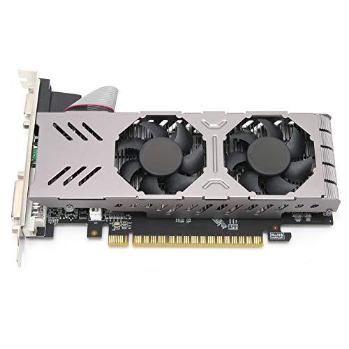 GTX750 Computergrafikkarten, 4G 128 Bit 1026 MHz DDR5 Grafikkarten, PCI Express 3.0 Steckplatz für Desktop Computer