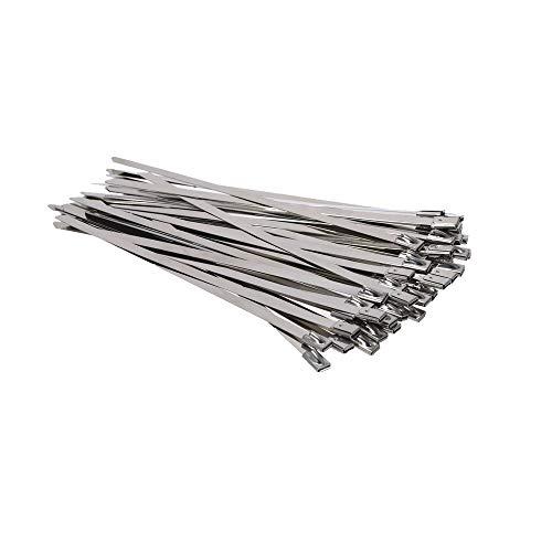20PCS 304 del acero inoxidable y uniones de cable 7,9 mm Anchura...