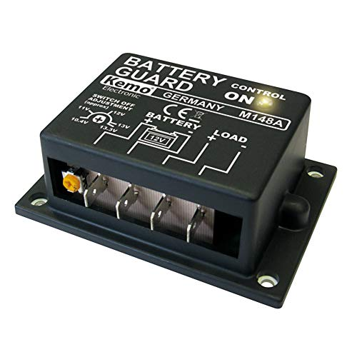 Contrà´leur de batterie (kit monté) Kemo M148A 12 V/DC 1 pc(s)
