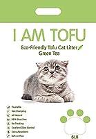 おからの猫砂 I AM TOFU:緑茶の香り 6L×1袋 猫砂 猫用トイレ