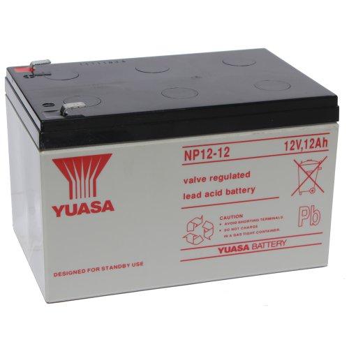 Batería Yuasa NP12-12 12Ah 12V (151mm*98mm*97,5mm) Todo tipo de aplicaciones.