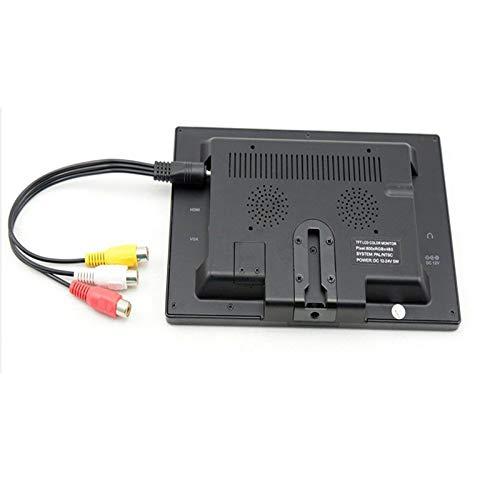 Monitor LCD PC Pantalla LCD PC Portátil AV/VGA/HDMI RCA Botón táctil de computadora para DSLR Raspberry PI