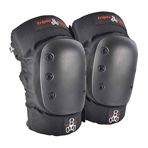 Triple Eight KP 22 Heavy-Duty Skateboarding Knee Pads (Pair), Medium