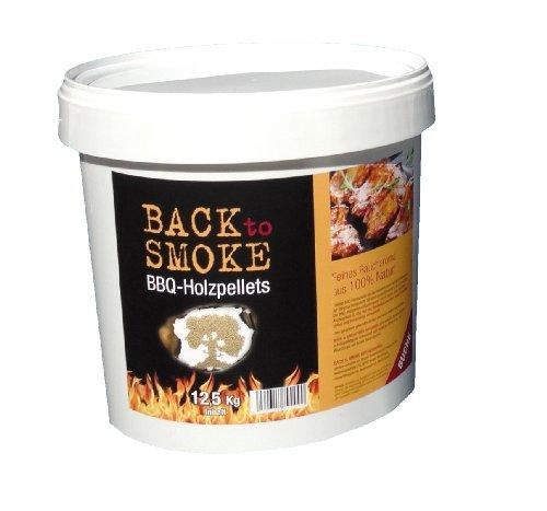 Back to Smoke Grill Pellets Buche, 12.5 kg