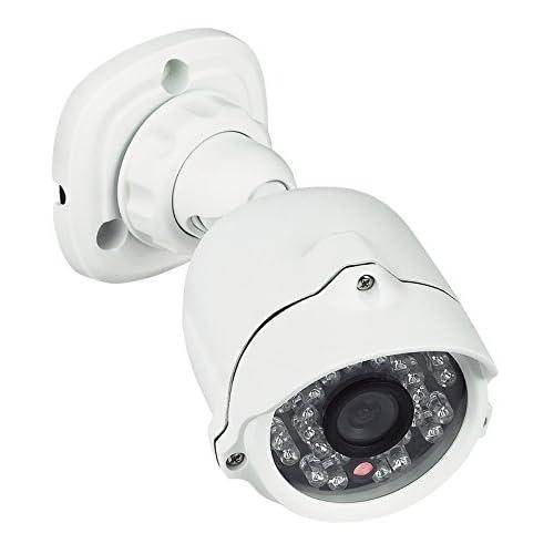 BTicino 391438 Telecamera Videosorveglianza, IP66, Compatta, LED Infrarossi, Compatibile con Kit Videocitofoni, Bianco