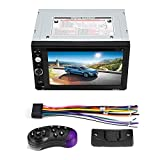 Duokon 2 DIN 6.2in Universal Dvd per Auto Car Player MP5 Lettore Dvd Touch Screen Vista Posteriore Bluetooth Stereo, Porta USB Lettore MP3, Supporta chiamate a Mani libere e Funzione di Lettura