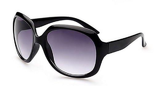Inception Pro Infinite Occhiali da Sole - Donna - Grandi - Vintage - Retro - Polarizzati Uv400 - ( Nero )