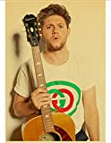 HUANGJIE Canvas Poster One Direction Member Singer Niall