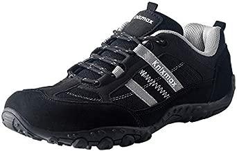 Knixmax Women's Hiking Shoes Lightweight Non-Slip Climbing Trekking Sneakers for Woman Camping Backpacking Shoe Black Size 11 US/EU 42