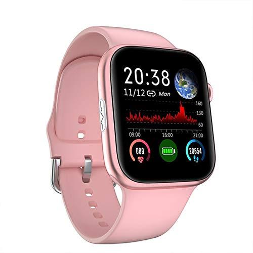ZYY SE03 Smart Watch ECG + PPG Ritmo cardíaco Impermeable Deportes Smart Watch Fitness Tracker Moda para Hombres y Relojes para Mujer para Android iOS,C