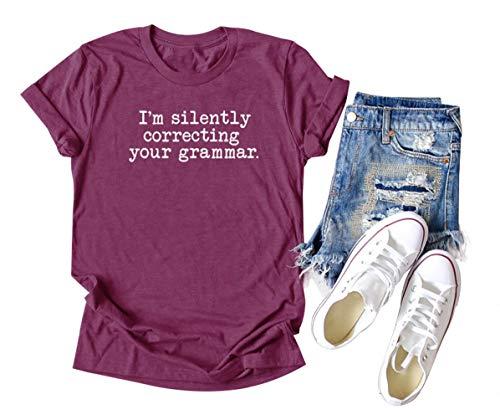 Chulianyouhuo Women Teacher T Shirt I