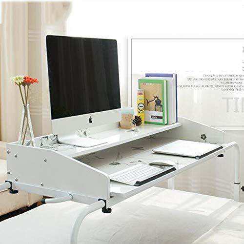 Escritorios HAIZHEN Mesa de sobremesa Altura Multifuncional de Altura Mesa móvil Ajustable con Soporte de Mesa, computadora, Mesa de Dibujo Mesa Plegable