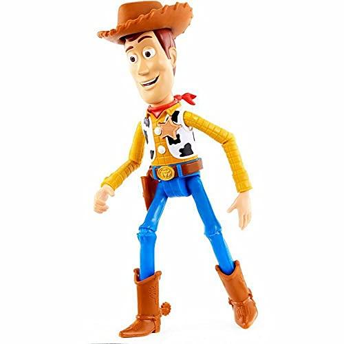 Disney Muñeca parlante a Escala Jessie GDP81 Pixar Toy Story 4 Inspirada en la película con más de 15 Frases y Sonidos, diseños auténticos, fácil de Colocar
