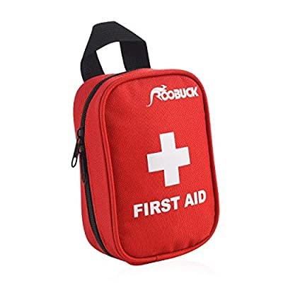 First Aid Kit - for Car,Travel, Sports, Camping, Home,Hiking or Office | Complete Emergency Bag Fully stocked with Medical Supplies (red10) from china