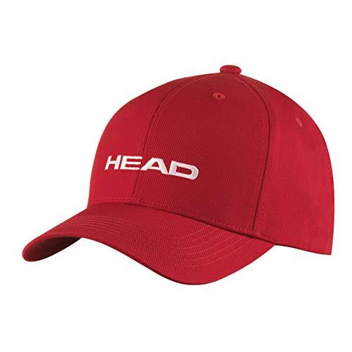 HEAD Unisex-Erwachsene Promotion Cap, red, Einheitsgröße