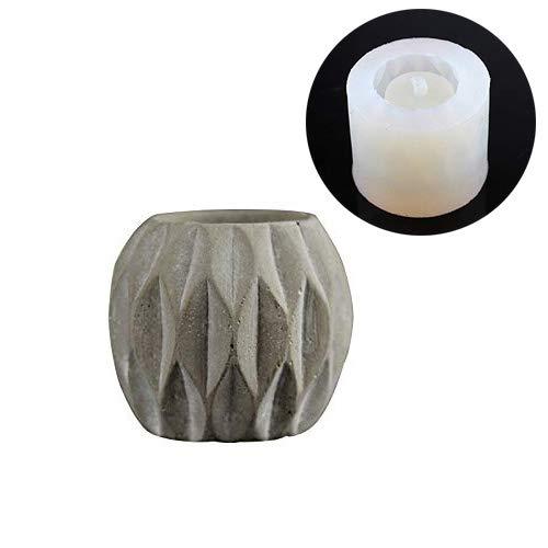 Nicole Flower Pot Molds Cement Planter Garden Bonsai Decoration Tools