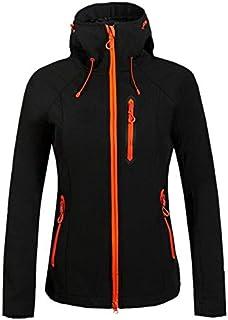 BEESCLOVER Outdoor Outdoor Women Waterproof Rain Coat Camping Hiking Jackets Windproof Soft Shell Fleece Skiing Jackets
