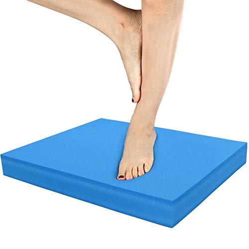 Yinuoday Weiche Ausgewogene Kissen Yoga Matte Taille Bauch Ankle Training Übung Fitness-Tool Blau Yoga Zubehör