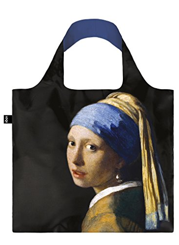 LOQI Vermeer Girl with a Pearl Earring, c.1665 Bag - Einkaufstasche