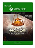 for honor currency pack 25000 steel credits | xbox one - codice download