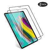 [2 Pack] Pellicola Vetro Temperato per Samsung Galaxy Tab S5e (2019) Tablet 10.5', Pellicola Protettiva Protezione Schermo di 9H Durezza Anti-Graffi Anti Impronte Salvaschermo Bordi Arrotondati 2.5D
