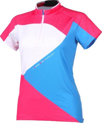 Ziener Damen Funktionsshirt Canni Lady Sublimation Tricot, Poison pink, 36, 139126