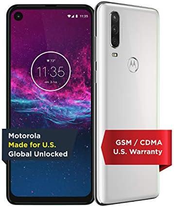 Motorola One Action Unlocked Made for US by Motorola 4 128GB 16MP Camera White product image