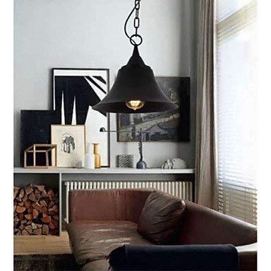 Kejing Moderne kroonluchter plafondlampen hanger medium retro mat zwarte klok metalen hanglamp 3C Ce FCC-RoHs voor woonkamer en slaapkamer