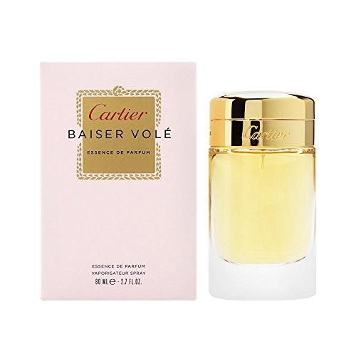 Cartier Baiser Vole Essence de Parfum by Cartier for Women 2.7 oz Essence de Parfum Spray