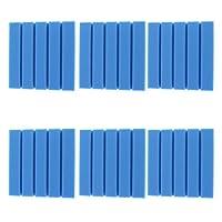 D DOLITY スタジオ アコースティックフォーム 防音 吸音材 全6色 - 青