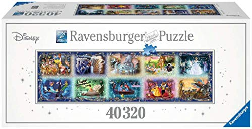 Ravensburger - Puzzle, diseño DCL Memorable Disney Moments, 40000 Piezas (17826)