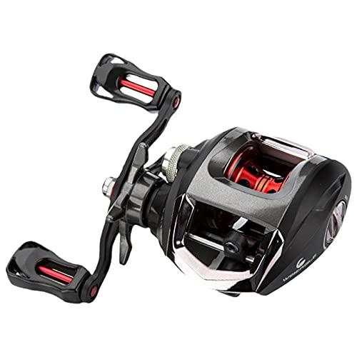 DONGTAISHANGCHENG Spinning Fishing Reel Large All-Metal Water Drop Wheel, Universal Long-Range Fishing Reel for Large-Capacity Bait Fishing Reel (Size : Left-Handed)