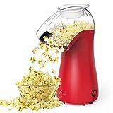 Hot Air Popcorn Maker Machine, ICETEK Home Popcorn Maker, BPA-Free, 96% Poping Rate, 2 Minutes Fast...