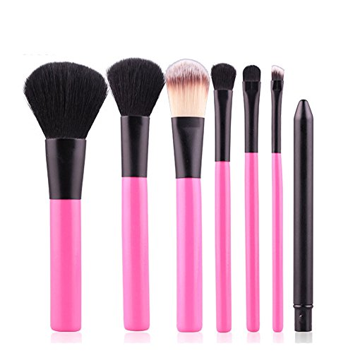 MEISINI Ensemble de pinceaux de maquillage en bois avec poignée Shadow Foundation Eyeliner Cosmetic Make Up Brush Set