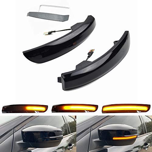 Turn Signal Indicator Side Mirror Dynamic Blinker Light for Ford Focus 3 MK3 SE ST RS C-Max