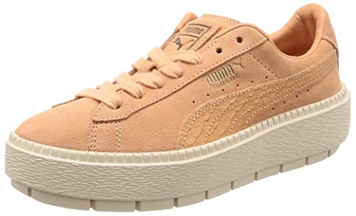 Puma Suede Platform Trace Animal W schoenen