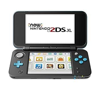 Nintendo New 2DS XL - Black + Turquoise  Renewed