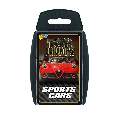 Sports Cars Top Trumps Juego de Cartas