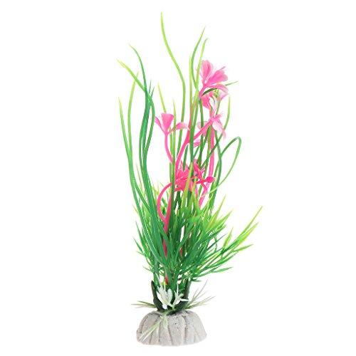 ZOUCY Design Kunstmatige Kunststof Aquarium Planten Gras Achtergrond FishTank Decoratie