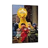Comics Filmposter Sesamstraße Elmo und großer Vogel