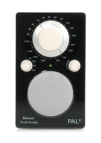 Tivoli PAL BT Tragbares Bluetooth UKW-/MW-Radio in Schwarz