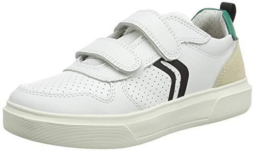 Geox J NETTUNO Boy C, Zapatillas, Color Blanco, 30 EU