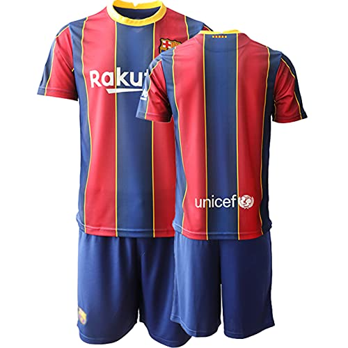 BASTB Camiseta de fútbol para niños, #17 Griezmann 2020/21 Home Jersey | Camiseta de fútbol para hombre 10-XXL, rosso, XX-Large