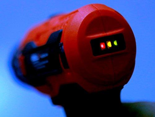 iBELL Cordless Drill Driver CD12-74, 12-Volts, 2 Battery+BMC Box