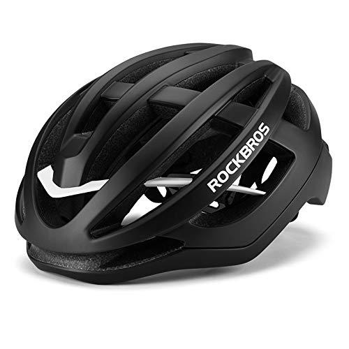 Casco De Ciclista De Ciclo Unisex Super Light Integralmente Moldeado Cap Dentro...
