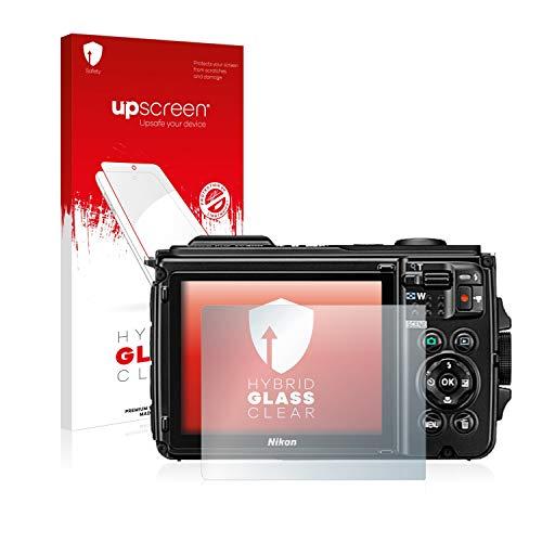 upscreen Protector Pantalla Cristal Templado Compatible con Canon EOS 6D Mark II Hybrid Glass - 9H Dureza