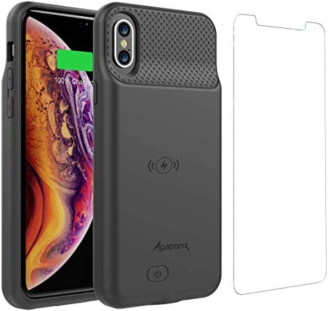 Alpatronix BXS Battery Case with Wireless Charging Compatible for iPhone Xs X 5 8 inch 2020 product image